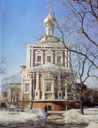 Успенский храм Новодвичьего монастыря, Москва
