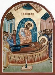 ...но рассказ об этом событии сохранен нам в Предании Церкви и выражается в иконе Праздника и церковной службе.