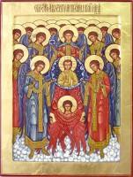 С праздником Собора Архистратига Михаила и прочих Небесных Сил бесплотных!